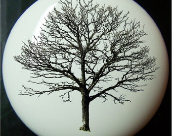Tree of Life    Ceramic  Drawer or Cabinet Knobs