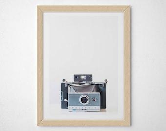 Polaroid Camera Print, photography, vintage camera, 5x7, 8x10, 11x14, 12x16 RIBBA, 16x20, 20x24 giclee print, fine art print,