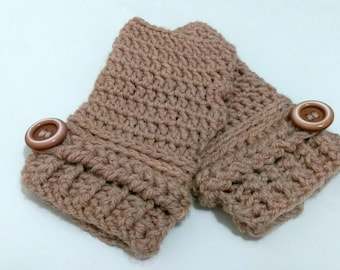 Fingerless Gloves - Crochet