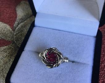 Swarovski Crystal Birthstone Rings