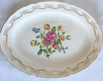 Edwin M. Knowles Serenade Platter