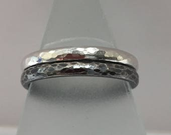 Pair of Sterling Silver Stacking Bands