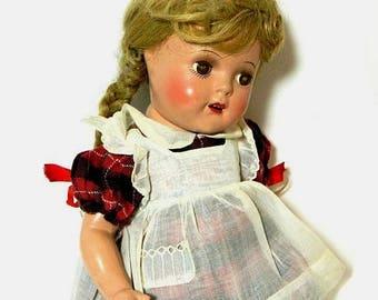 1930s Madame Alexander Composition McGuffey Ana Doll in Original Box