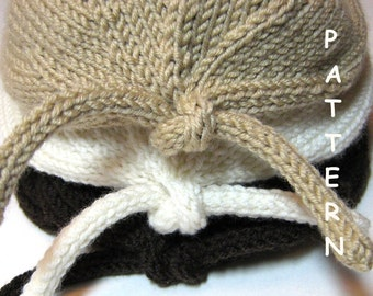 pdf Knitting Pattern Infant Baby Newborn Knit Hat Welcome Home Sweet Baby