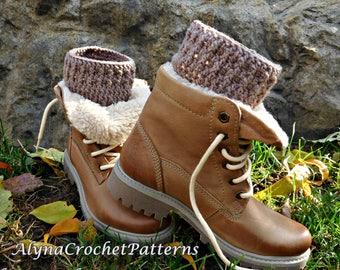 Boot Cuffs Crochet - Crochet Pattern Boot Cuffs - Boot Cuffs Adult, Toddler, Baby, Child