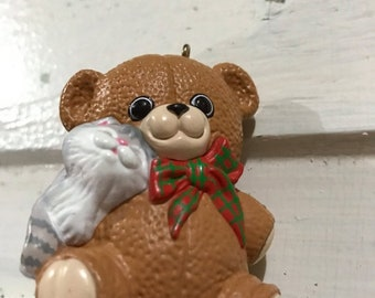 MAYniaSALE Hallmark Keepsake ornament Puurfect Snuggle 1988