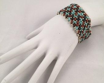 Herringbone Knit Bracelet