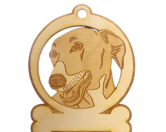 Greyhound Ornament - Greyhound Gifts - Greyhound Memorial - Greyhound Art - Greyhound Lover - Greyhound Rescue - Personalized Free