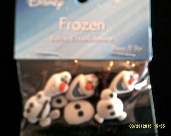 Olaf Button Pack