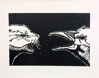 Screech - Mini Print