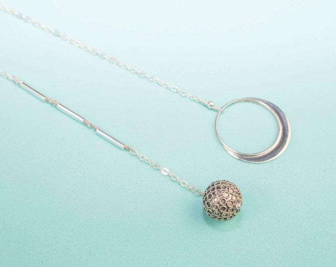 Comet Lariat Necklace