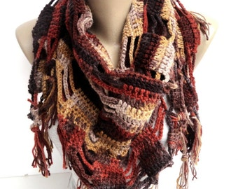 Clothing Gift ,Cowl Scarf ,Crochet Scarf , Crochet Shawl ,Women Accessories ,Wrap Shawl ,Gift For Mom ,Gifts For Her , Mom Gifts