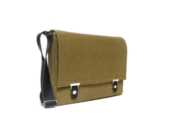 "13"" / 15"" / 17"" MacBook Pro / Pro Retina messenger bag - olive"