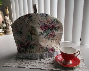 Floral Tea Pot Cosy Cottage Chic Tea Pot Cozy