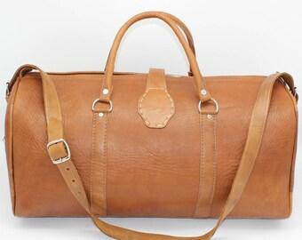 SALE !Travel bag,Weekender,leather backpack, leather duffle bag, weekender bag from leather, gym bag, cabin bag leather, vintage style