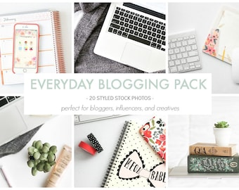 Styled Stock Photos | The Blogging Photo Pack | Blog stock photo, stock image, stock photography, blog photography