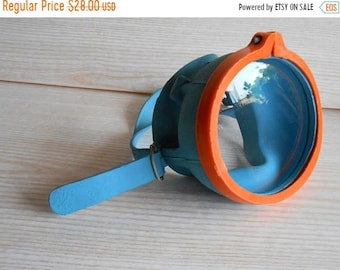 ON SALE Vintage Kit Diving Goggles, Diving mask, Scuba diving mask ,Vintage snorkelling mask, Swimming mask, Diving goggles,Beach Decor
