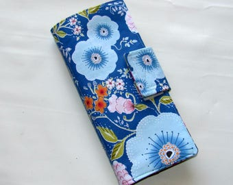 Card Organizer, Credit Card Wallet, Business Card Holder, Card Wallet, Gift Card Holder, Loyalty Card Wallet, Organizer Wallet, Fleurette