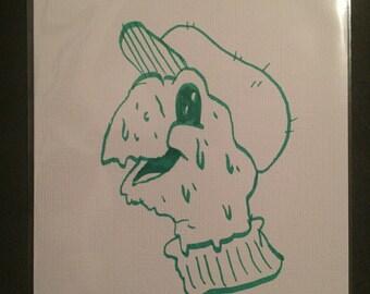 Arts Zine W/ Penelope Gazin Drawing