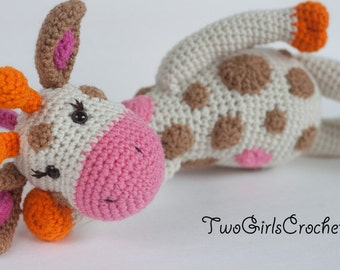 Crochet Pattern Giraffe Amigurumi PATTERN ONLY (Jillian the Giraffe) Instant download