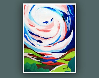 Art Prints, Contemporary art, Abstract Painting, Art Prints, Modern Abstract Art, Abstract Landscape Art