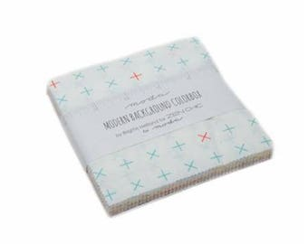 """Modern BG Colorbox Charm Pack by Zen Chic for Moda, 42 - 5"""" squares"""