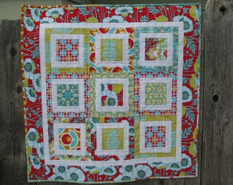 Modern Quilted Baby Quilt