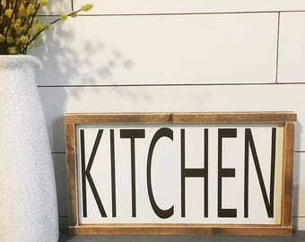 Kitchen Sign, Farmhouse Decor, Rustic, Farmhouse, Kitchen