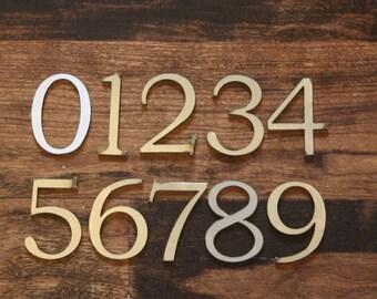 "Classic 2"" Numbers | Laser Cut Metal Numbers"