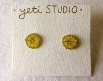 Unique Citrus Earrings