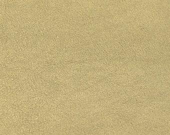 Coupon of golden nappa lambskin