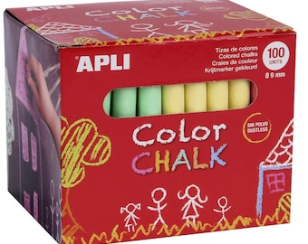 Chalk colors x 100 - love - Ref 14575 - until the stock!