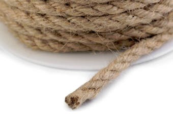 by the yard 6 mm jute string