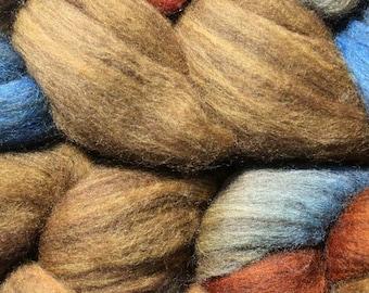 Yak Silk Merino Spinning Fiber - 'Wheat Field'