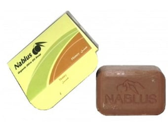 Nablus Organic Soap with Honey