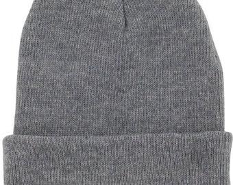Handmade Mens Beanie Hats  winter knitted hat