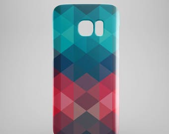 Geometric phone case for Samsung Galaxy S8, Samsung Galaxy S8 Plus, Samsung galaxy note 8,  Samsung Galaxy S9, Samsung Galaxy S9 Plus