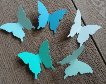 75 Butterfly Die Cuts, Paper Butterfly, Baby Shower Decor, Butterfly Decorations, Wedding Decor