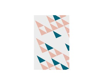 Graphic notebook with triangles - Joa