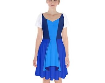 Sapphire themed Steven Universe dress