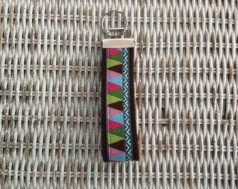 Colorful Womens Keychain - Teachers Key Fob
