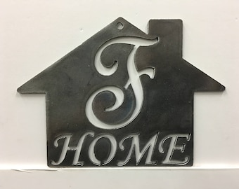 F - Home Plaque