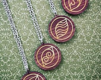 Elements Necklaces