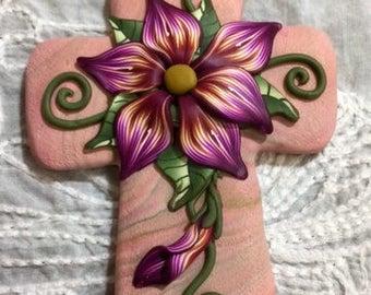 Decorative Cross Magnet 1302