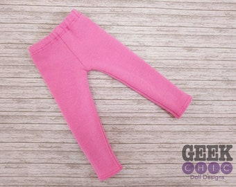 "Pink Leggings, fits 14.5"" dolls"