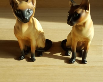 Siamese cats (2) - PRICE INCLUDES SHIPPING