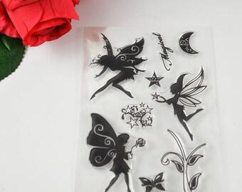 Fairies Clear Stamp Set