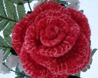 Crochet Bouquet Rose Pattern PDF