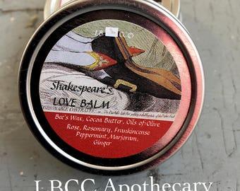 Shakespeare's Love Balm- An Aphrodisiac Salve
