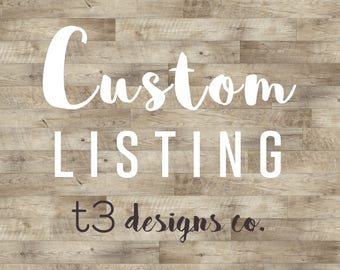 Custom add-on listing for Colleen